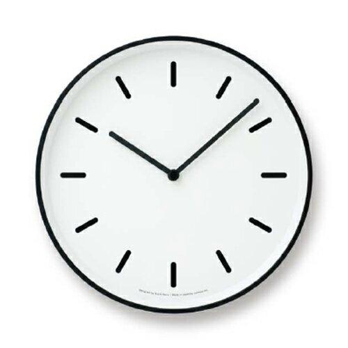 Lemnos MONO Clock ホワイト LC10-20B WH 時計の写真