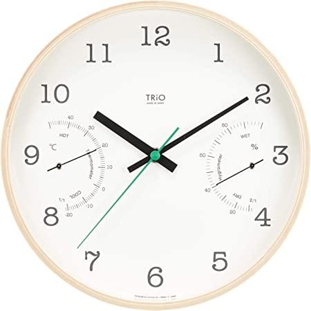 タカタレムノス TRiOLemnos PC10-22(クロック/インテリア雑貨/雑貨時計/掛け時計/壁掛け時計/モダン/おしゃれ/オシャレ/北欧テイスト)