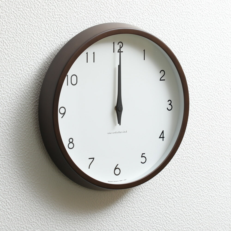 タカタレムノス Lemnos カンパーニュ 電波時計 ブラウン PC10-24Wの写真