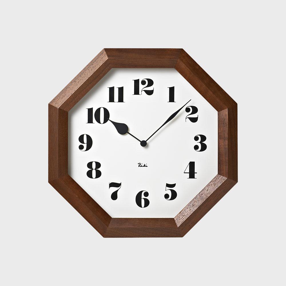 タカタレムノス Lemnos 八角の時計の写真