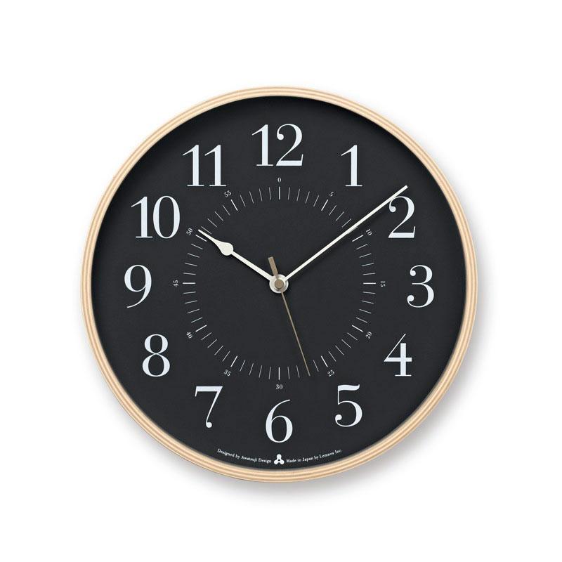 lemnos   レムノス  掛け時計toki トキ グレーawa13- yの写真