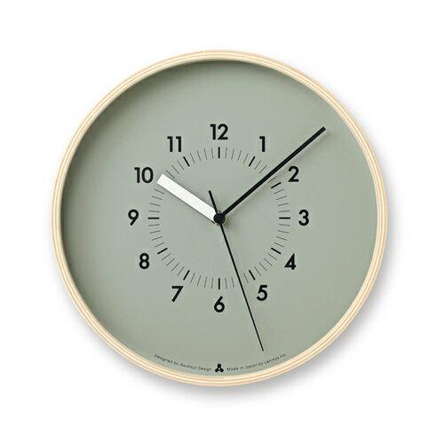 LEMNOS ( レムノス )掛け時計SOSO(ソソ)グレーAWA13-06GYの写真