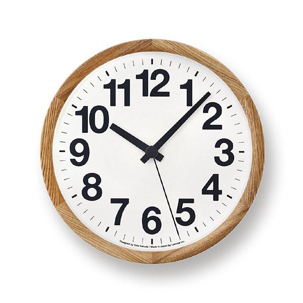 OFF Lemnos ClockA レムノス クロックエー YK14-05 掛け時計/かけ時計の写真