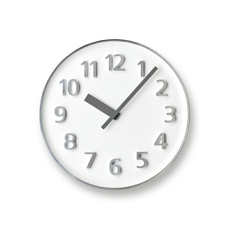 LEMNOS レムノス 掛け時計FounderclockファウンダークロックホワイトKK15-08WH