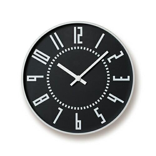 五十嵐威暢 札幌駅時計 掛時計 eki clock エキクロック ブラック