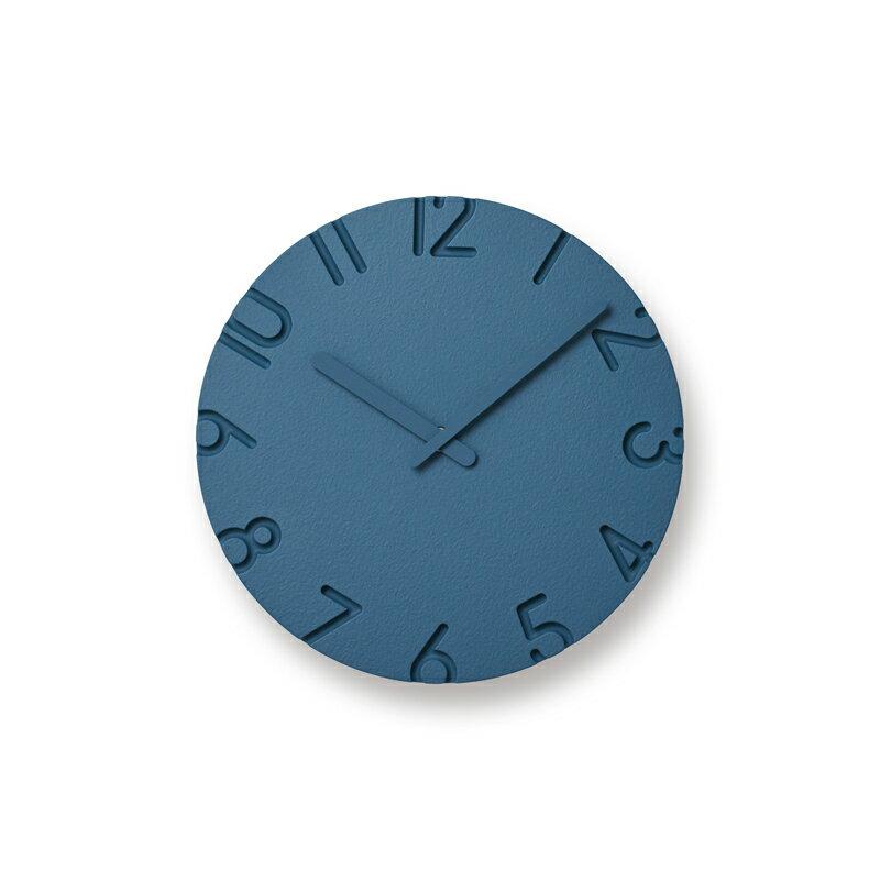 壁掛時計レムノス カーヴドカラードSIZE:S ブルー NTL16-06 BLlemnos carvedcolored 寺田尚樹の写真