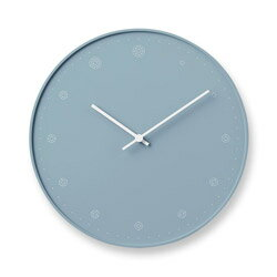 Lemnos レムノス molecule /ブルー NL17-02 BL 掛け時計