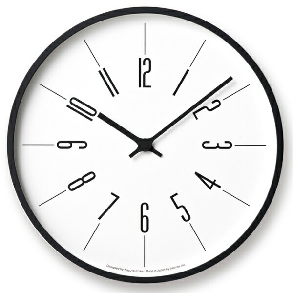 lemnosレムノス掛け時計時計台の時計kk17-13aarabic寸法:φ d の写真