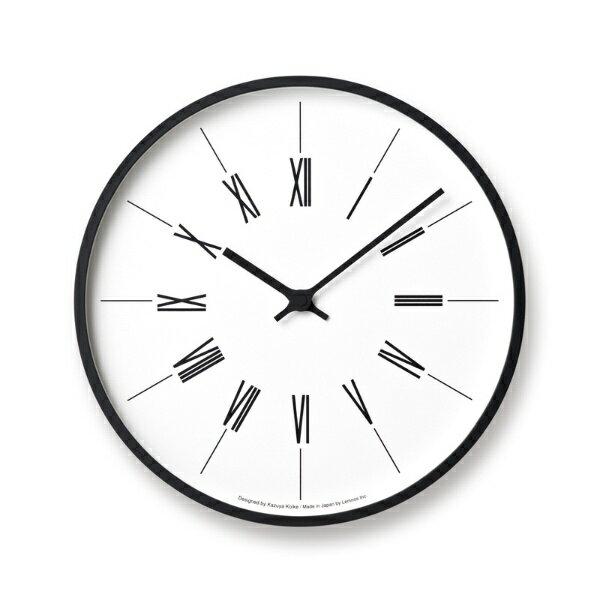 lemnosレムノス壁掛け時計時計台の時計kk17-13 broman寸法:φ d 10p15sep17