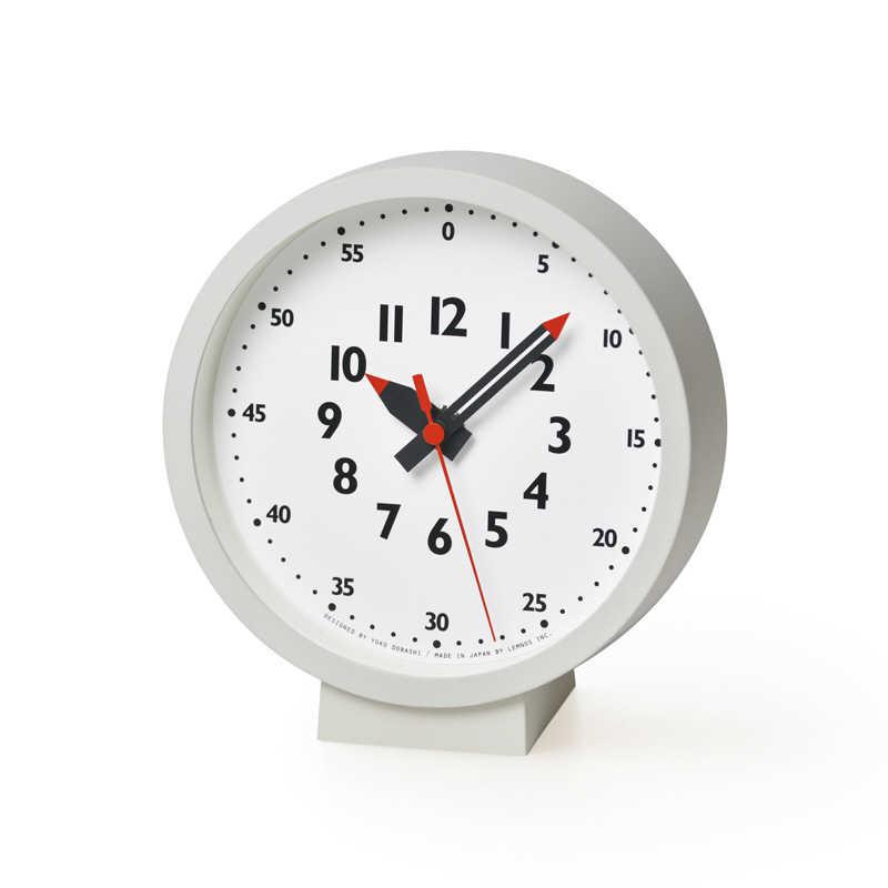レムノス ふんぷんくろっく for table 置き時計 掛け時計 YD18-04 lemnos fun pun clockの写真