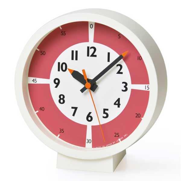 Lemnos レムノス ふんぷんくろっくカラー for table 時計