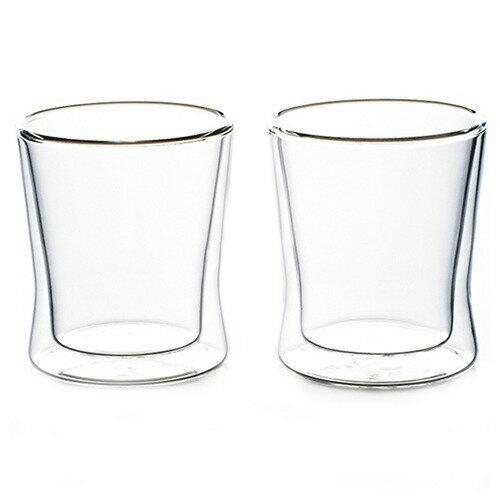 耐熱二重ガラス・グラス ペアセット(2コ入)の写真