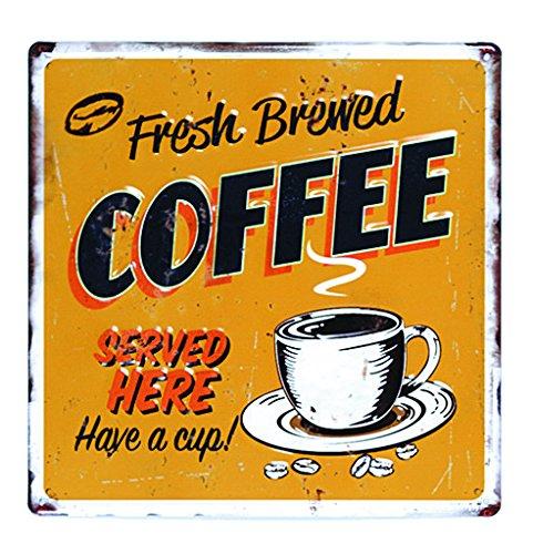 KIJAPANケーアイジャパンDESIGN FRAMEデザインボードメタルM種類:コーヒーYE素材:スチールサイズ:W30×H30cm156352の写真
