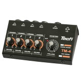 Tech 4ch マイクロミキサー TM-4