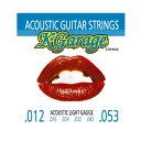 キクタニミュージック ギター弦 K-Garage STRINGS Acoustic ACOUSTIC012-053の画像