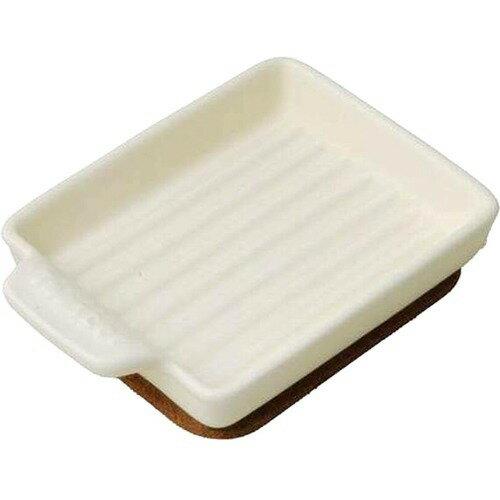 ケデップ トースタープレート Sサイズ ウェーブ クリーム TO-021(1コ入)の写真