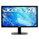 Acer/エイサー 24型ワイドLED液晶ディスプレイ KA240Hbmidx ブラック