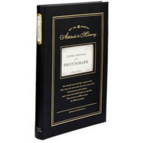 ベーシックアルバム・150ポケット ブラック コルソグラフィア cg-bal4-bk