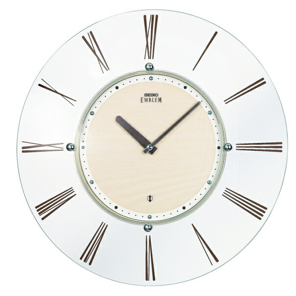 SEIKO CLOCK EMBLEM(セイコークロックエンブレム) 電波掛け時計 薄さ26ミリ HS529Aの写真