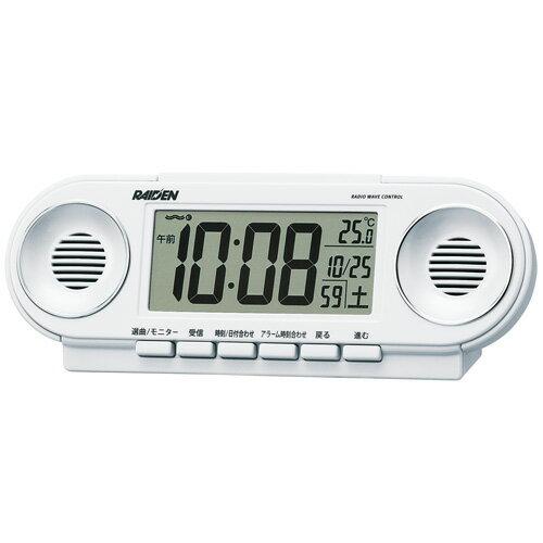 セイコー目覚まし時計 ライデン NR531Wの写真