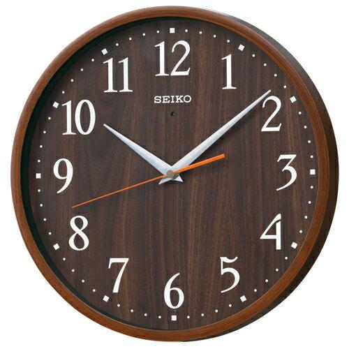 セイコー電波掛け時計 ナチュラルスタイル KX399Bの写真