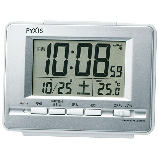 セイコー 電波目覚まし時計 NR535W(1台)