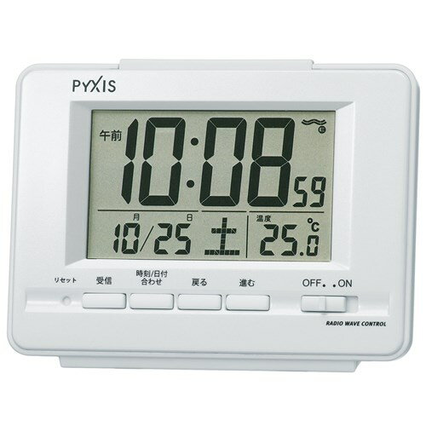 NR535H セイコークロック 目覚まし時計の写真