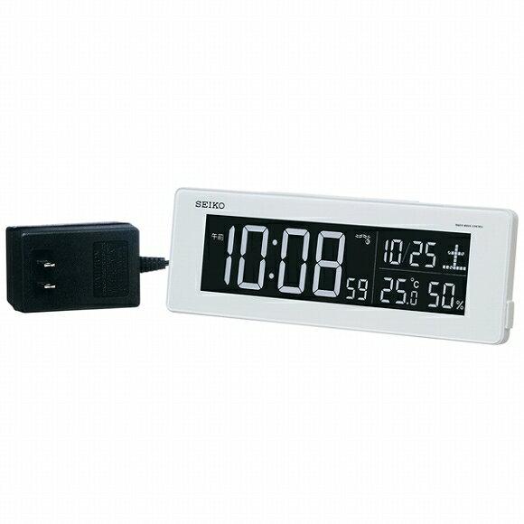 DL205W セイコークロック 目覚まし時計の写真