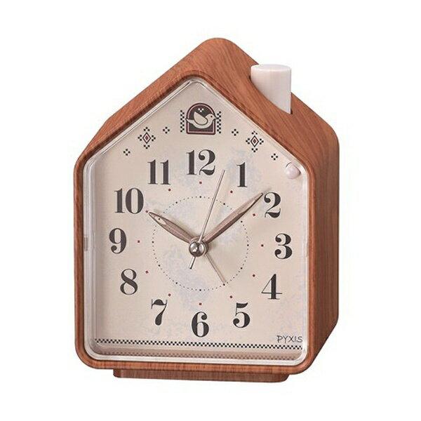 セイコー 目覚まし時計 ネイチャーサウンド 鳥の鳴き声 NR444Aの写真
