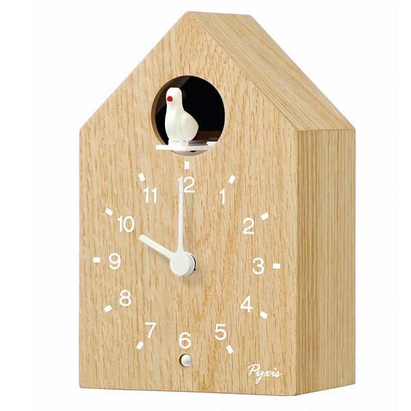 セイコー 掛け置き兼用時計 PYXIS ピクシス かっこう時計 NA609Aの写真