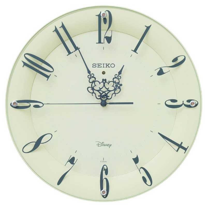 セイコー 掛け時計 大人ディスニー ミッキー&ミニー FS506Cの写真