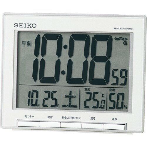 セイコー 目覚まし時計 SQ786S(1台)