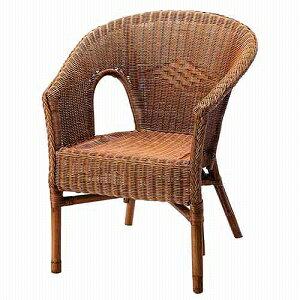 Table&Chair 籐製(ラタン)チェアー CT-101BR ブラウンの写真
