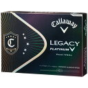 キャロウェイゴルフボール LEGACY PLATINUM 1ダース 12球 /ホワイト LEGACYPLATINUM