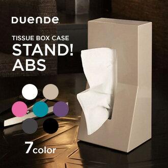 DUENDE ティッシュケース STAND ABS Black DU0025BKの写真
