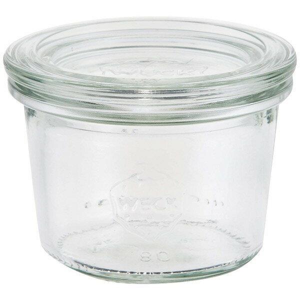 WECK ガラスキャニスター 保存容器 Mold 80 WE-080