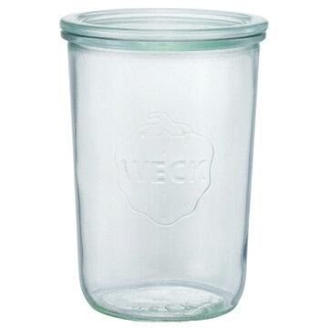 WECK ガラスキャニスター 保存容器 Mold Shape 750ml WE-743の写真