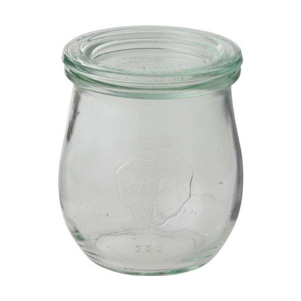 WECK ガラスキャニスター 保存容器 Tulip220 WE-762の写真