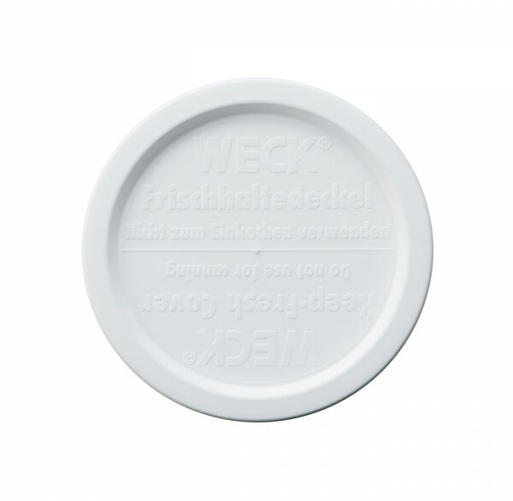 WECK プラスティックカバーL ホワイト WE-005の写真