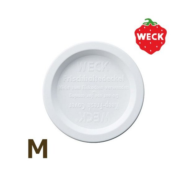 WECK プラスティックカバーM ホワイト WE-006の写真