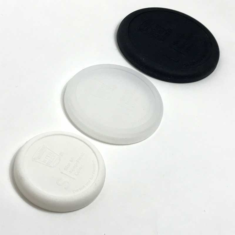 WITH WECK WECKガラスキャニスター用SILICONE CAP Black Sサイズの写真