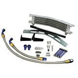 PLOT プロト オイルクーラー本体 ラウンドオイルクーラーシステム カラー:シルバー XJR1200 XJR1300