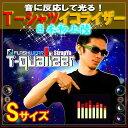 (FLASHWEAR T-Qualizer)音で超光る☆Tシャツイコライザー (Sサイズ)