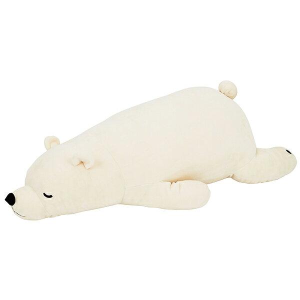 ねむねむプレミアム 抱きまくらL WHITE シロクマのラッキー 28977-11 1025192