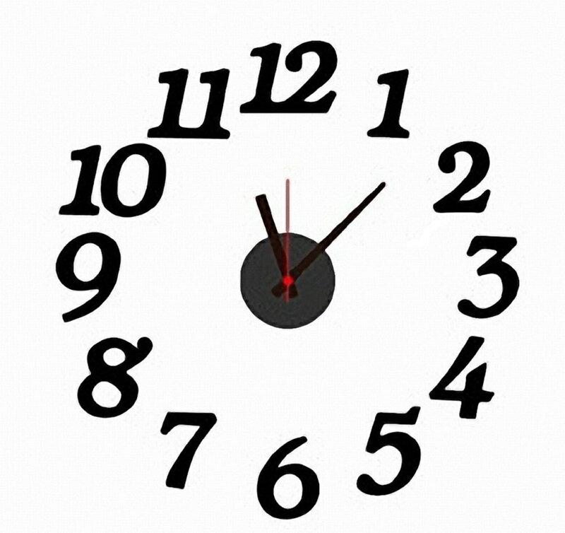 オリジナルの時計が作れる! DIY ウォールクロックの写真