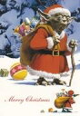 スターウォーズ(STAR WARS)クリスマスポストカードセット2枚入り(0825HESW01/02)