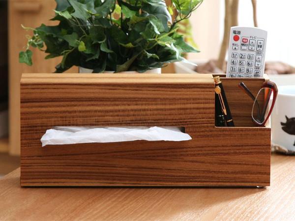 cocoshi ウッド ティッシュケースWood Tissue Caseの写真