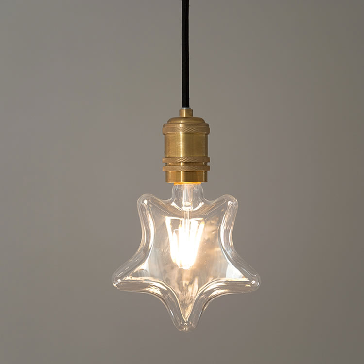LED電球 E26 エジソン電球 星形VINTAGE LED BULB E26の写真