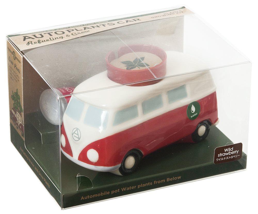 オート プランツ カー(mini Bus):ワイルドストロベリーの写真