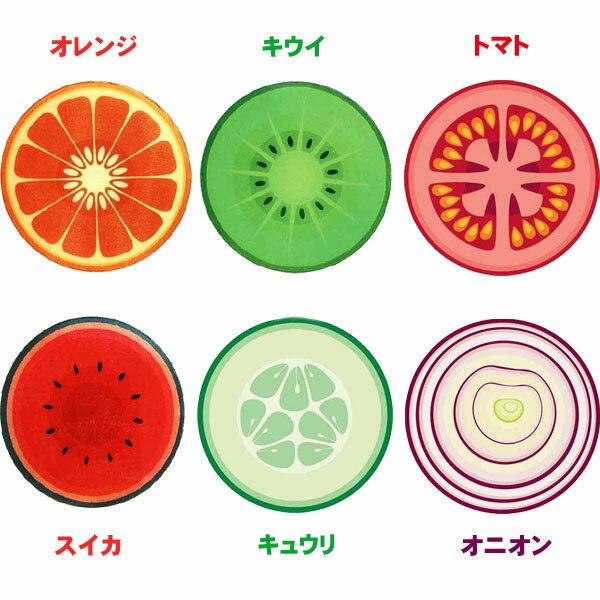 ジョゼフ・ジョゼフ 耐熱強化ガラス カッティングボード オレンジ 丸型(1枚入)